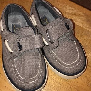 Ralph Lauren polo shoes size 6 baby